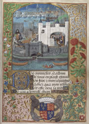 Charles of Orleans in The Tower of London, from